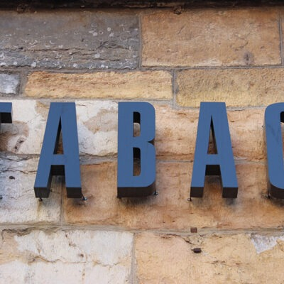 3D lettering Signs